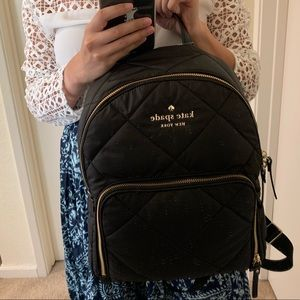 kate spade Bags - KATE SPADE BLACK WATSON LANE HARVEY BACKPACK